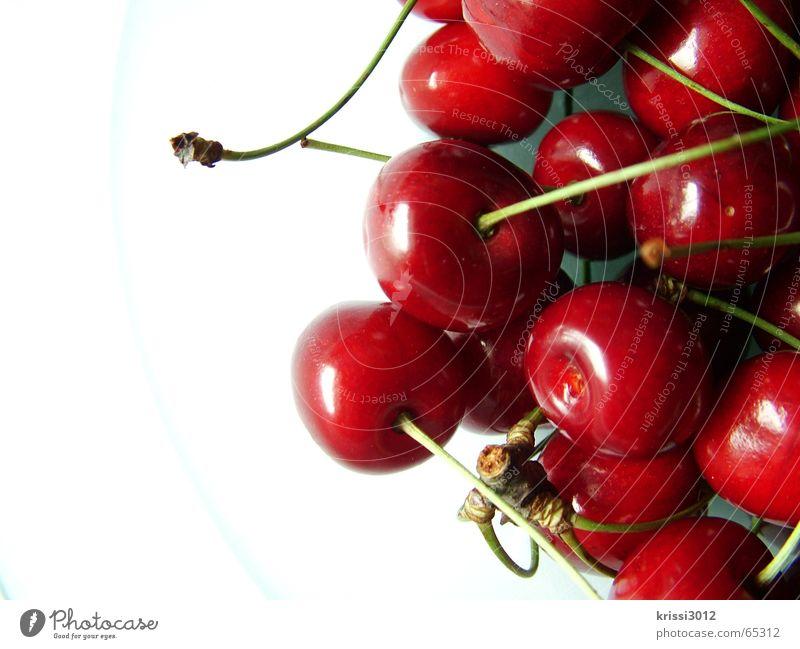 cherry cherry lady Cherry Red Sweet Green Plant Food White Summer Tree Gastronomy Fruit Stalk Anger Heart Harvest
