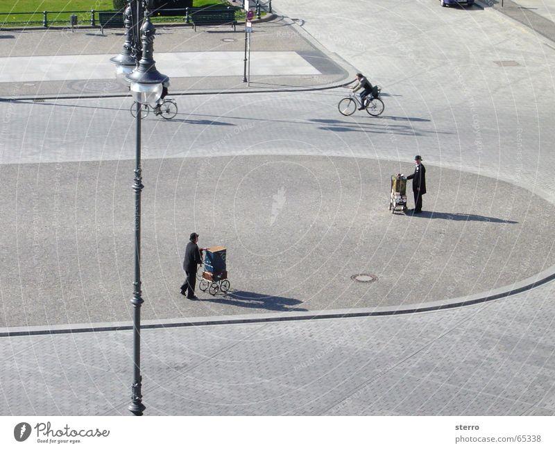 Pariser Platz, Berlin Barral organ Places Suit Lantern Bird's-eye view Music