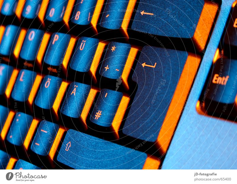 Computer Keyboard Touch