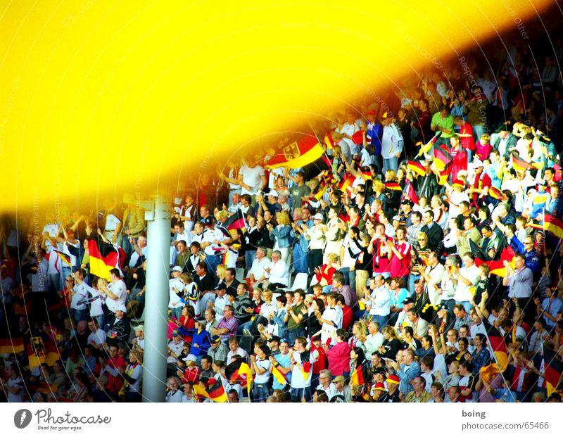 Joy Sports Playing Germany Soccer Success Flag Human being German Flag Crowd of people Goodbye Sporting event Competition Fan Applause Stadium