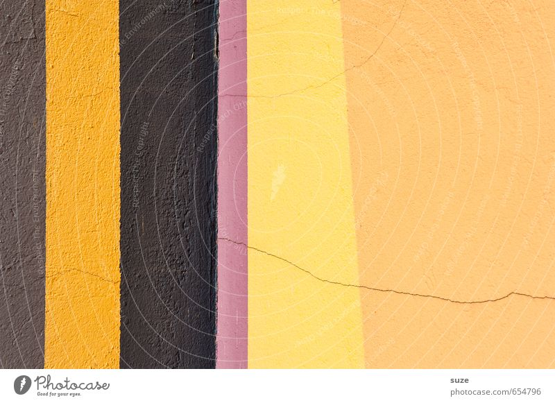 Colour Yellow Wall (building) Wall (barrier) Style Line Brown Background picture Facade Design Arrangement Simple Stripe Illustration Violet Graphic