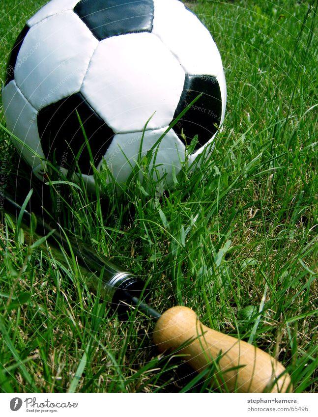 Green Summer Joy Black Sports Meadow Playing Grass Happy Wood Air Soccer Metal Hope Ball Lawn
