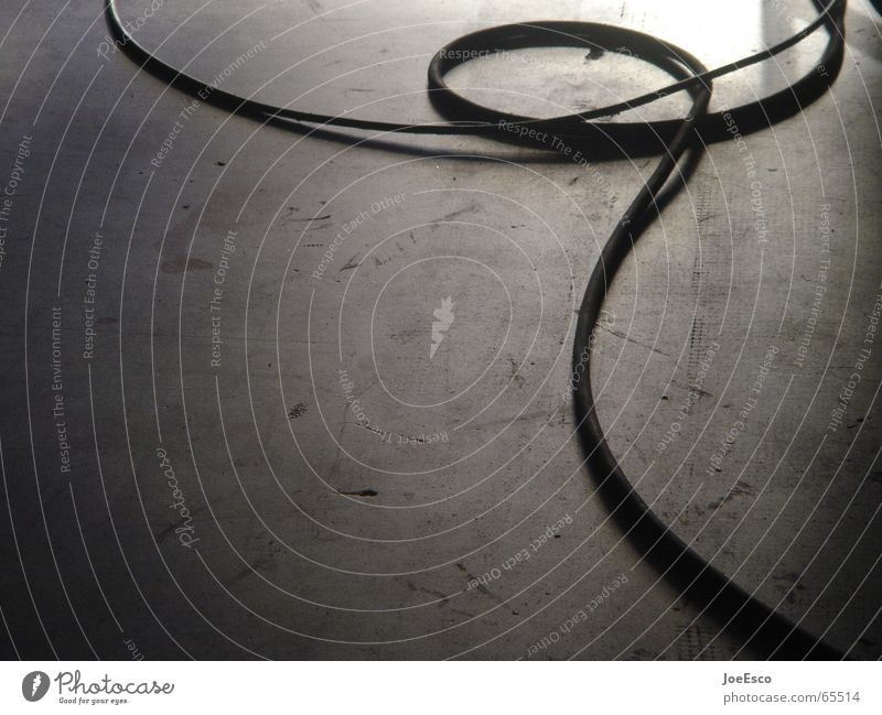 trip hazard Colour photo Style Room Cable Concrete To fall Divide Production Filming Photo shoot Terminal connector Loop Coil Lasso on set Ambush Stumble