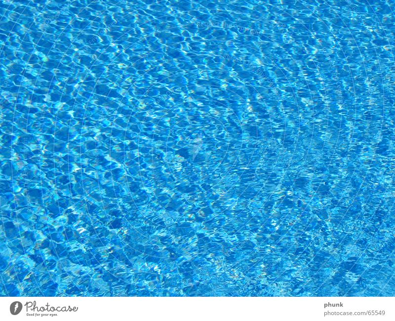 water. creative title Swimming pool Wet Cold Cooling Water Blue