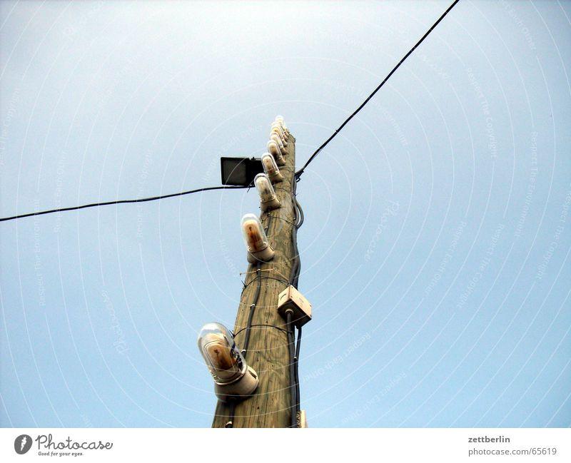 Sky Lighting Lantern Electricity pylon Floodlight Awareness Lamp post