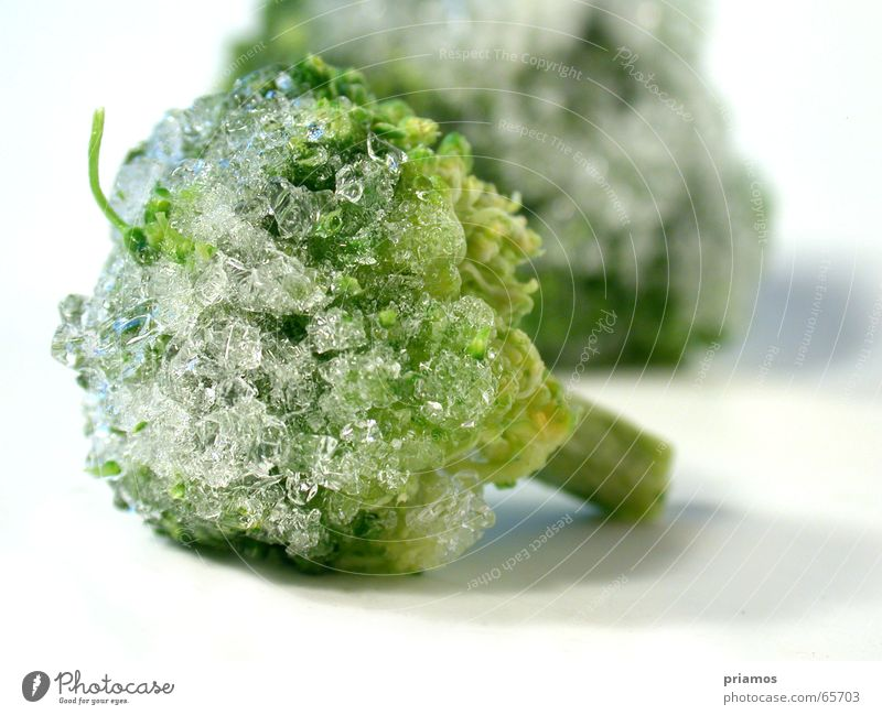 Green Nutrition Cold Ice Vegetable Express train Broccoli