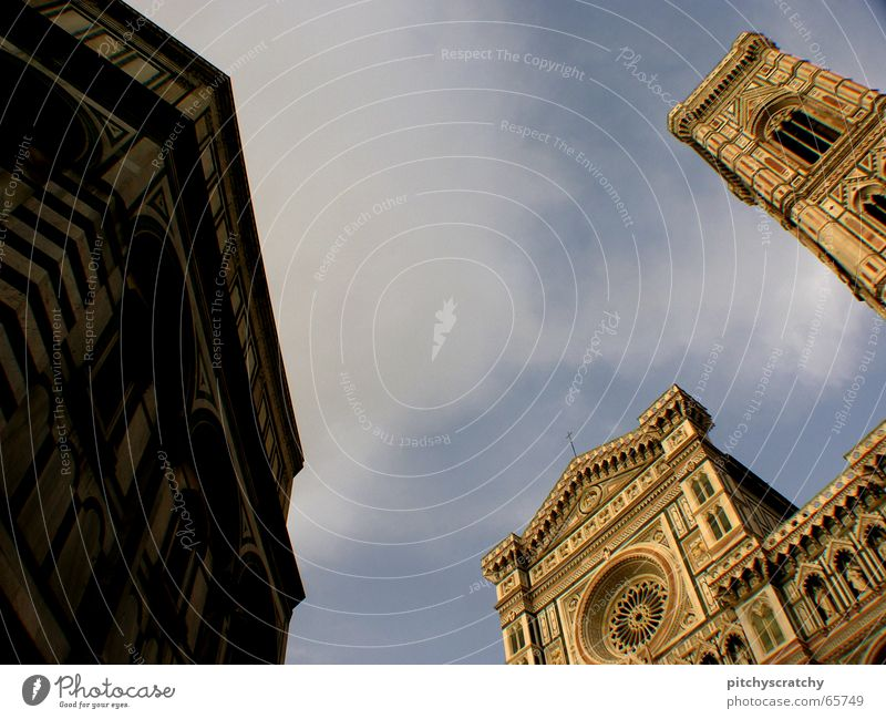 Sky Building Religion and faith Architecture Italy Dome Church Tuscany Florence Renaissance Santa Maria