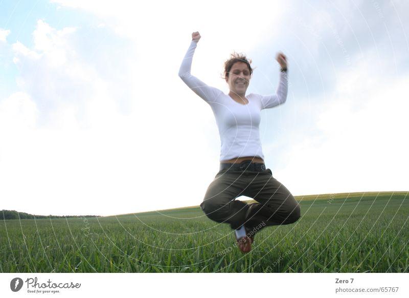 JuMp ARoUnd Meadow Field Jump Hop Landscape yoo yeah yipie klinsmann