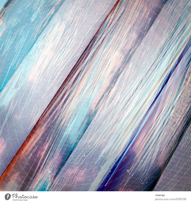 Packed Elegant Style Design Plastic Line Stripe Colour Surrealism Background picture Packaging Packing film Colour photo Exterior shot Close-up Abstract