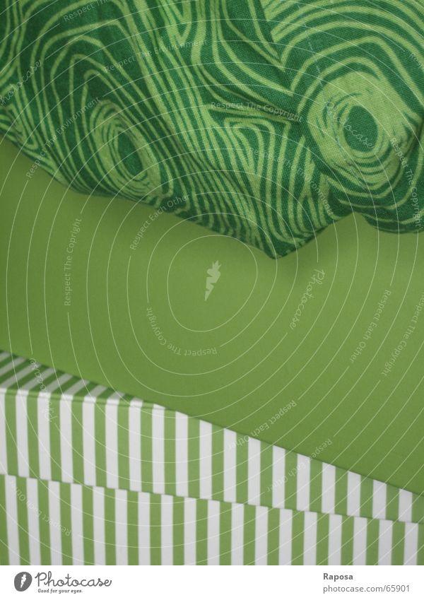 White Green Colour Circle Striped Unicoloured Bright green