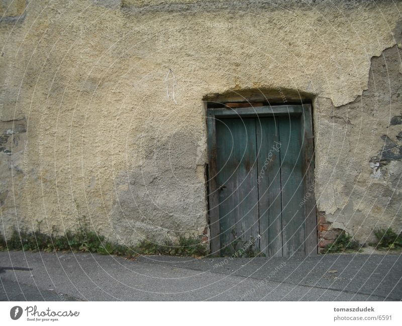 Old Wall (building) Architecture Door