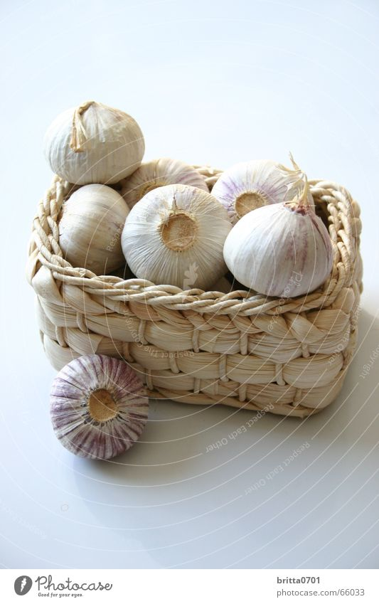 Nutrition Kitchen Herbs and spices Vegetable Basket Ingredients Garlic