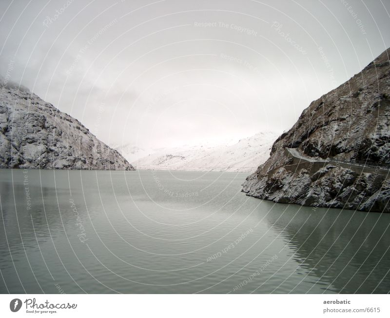 reservoir Reservoir Mountain Water