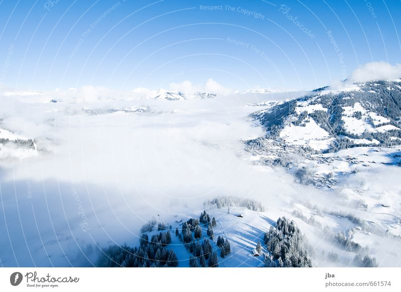 Sky Nature Blue Relaxation Calm Clouds Winter Mountain Life Snow Sports Freedom Air Flying Fog Contentment
