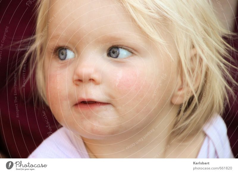 Human being Child Nature Joy Girl Face Emotions Movement Healthy Happy Blonde Infancy Happiness Beginning Study Uniqueness