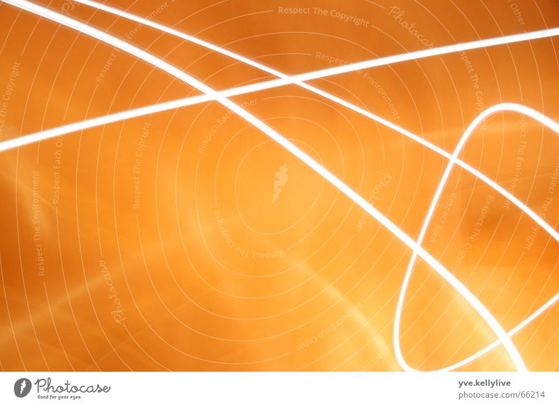 Orange Stripe Visual spectacle