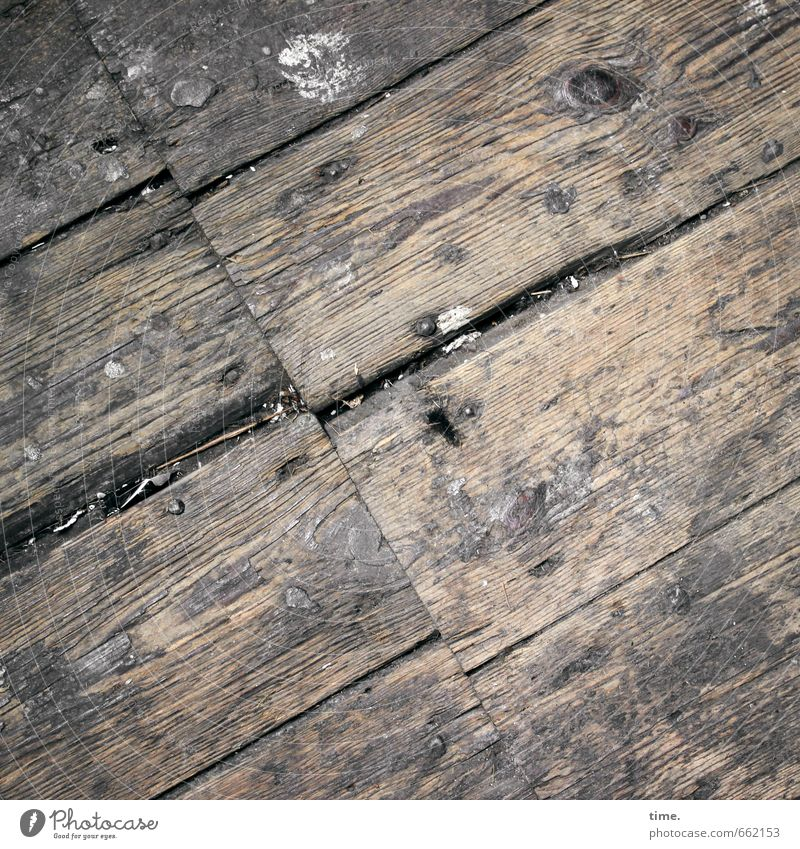 STUDIO TOUR | swept clean Living or residing Redecorate Attic Wooden floor Floorboards Furrow Line Old Authentic Dirty Historic Broken Rebellious Trashy Brown