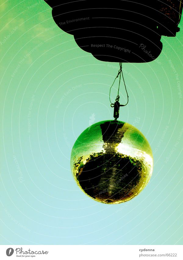 Sky Joy Party Music Dance Glittering Disco Mirror Club Event Hang Sing Glamor Disco ball
