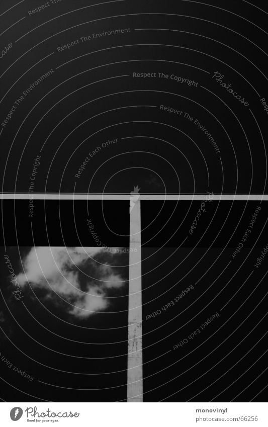 T Seat of government 2006 Sky ttt bw clouds minimalism