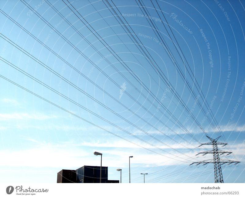 Electricity Electricity pylon