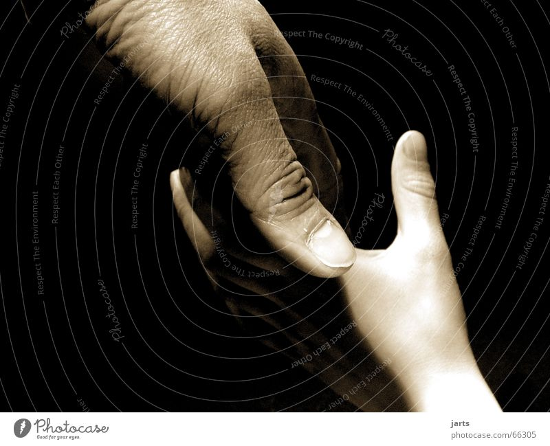 generations Black & white photo Interior shot Studio shot Close-up Light Shadow Long shot Human being Child Father Adults Family & Relations Hand Emotions