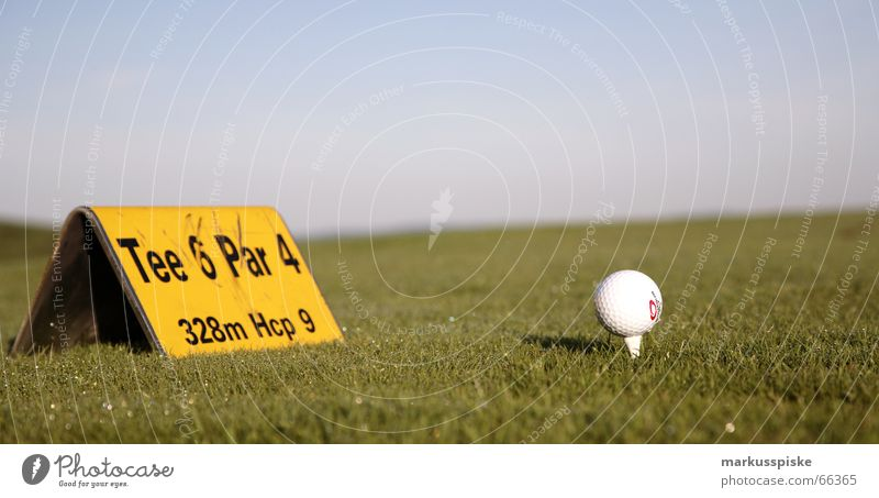 Sky Sports Places Ball Lawn Golf Double exposure Handicapped Pro Tee off