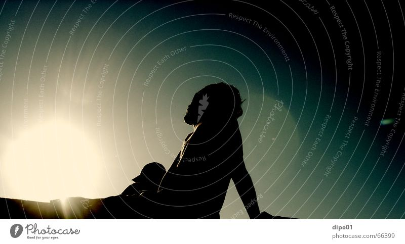 Man Sky Sun Clouds Relaxation Music Music festival