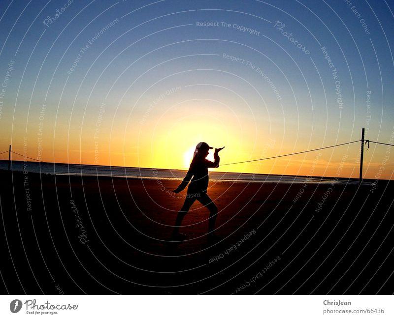 Water Sun Ocean Beach Calm Lamp Relaxation Hair and hairstyles Sand Rope Wellness Island Past Rod Borkum Baseball cap