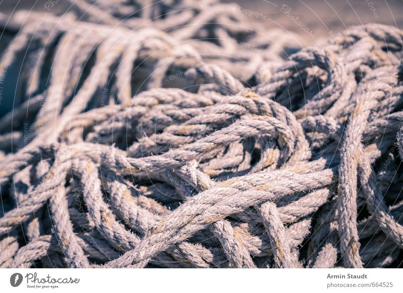 """pile of rope Rope Knot Gordian knot Old Simple Gray Chaos Society Puzzle Planning Transience Time entangled Globalization Vintage """"braided,"""""""