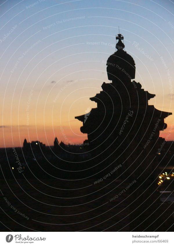 Sky Sun Berlin Tower Dusk Capital city Reichstag