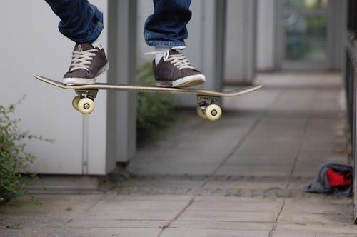 stopped. Air Break Skateboarding Roughly Concrete Town Stand Jump Kickflip Sports Asphalt Playing Funsport Extreme sports Aviation Ollie Feasts & Celebrations