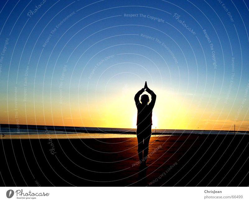 Water Sun Ocean Beach Calm Lamp Relaxation Hair and hairstyles Sand Rope Wellness Island Past Light Yoga Rod