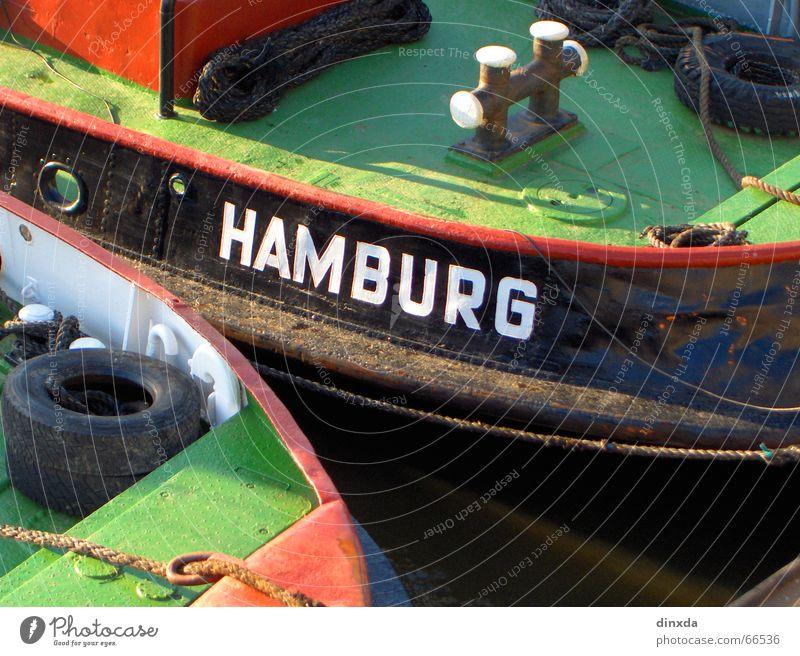 Hamburch Watercraft Ocean Hamburg Harbour Elbe