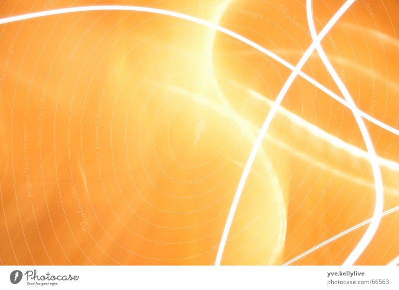 Orange Stripe Long exposure Visual spectacle Flare Beam of light