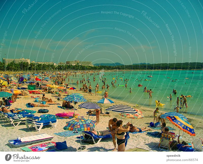 Have a nice holiday yet ...  SECOND Lake Turn on Tease Summer vacation time Air mattress Pushing Tourist Beach Ocean Sardine Sunshade Hot Vacation & Travel