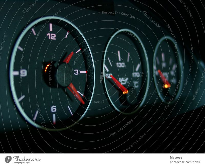 Car Electricity Clock Things Musical instrument Gasoline Oil Speedometer