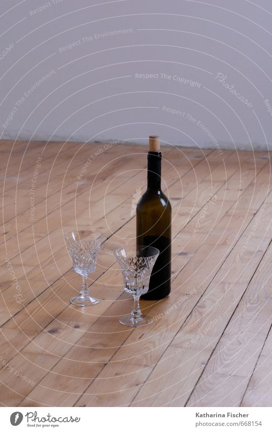 #668154 Beverage Alcoholic drinks Wine Bottle Glass Feasts & Celebrations Wood Brown Red White Break Floor covering Wooden floor crystal glasses Red wine
