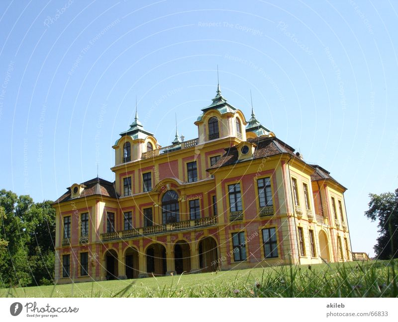 Sky Summer House (Residential Structure) Grass Park Elegant Lawn Tower Castle Luxury Rich
