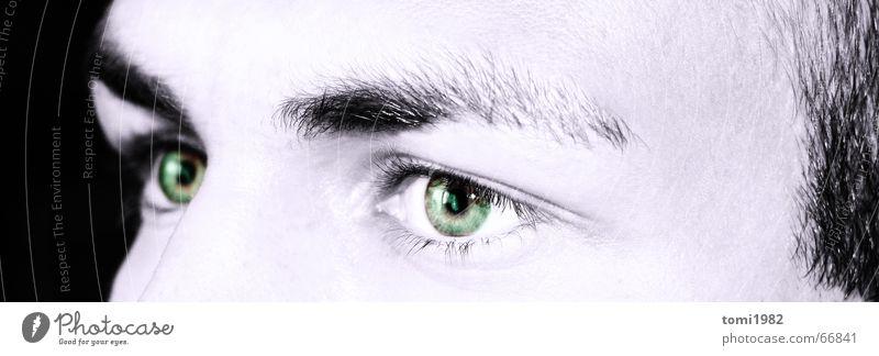 My eyes Night Dream Eyes Face black Human being illusion