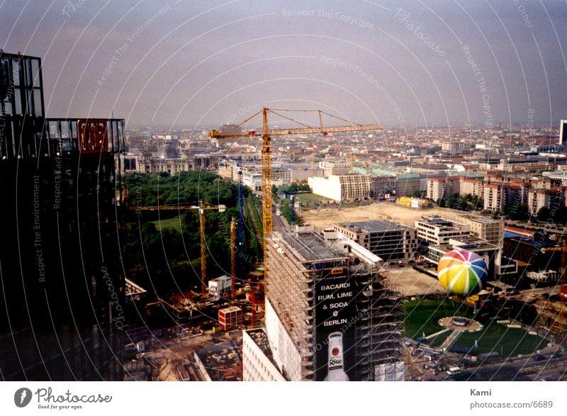 Berlin Town Crane Construction site Architecture