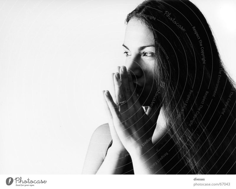 Si Diós quiere... Desire Dream Hope Caresses Kissing Woman Hand Thought Mysterious Certainty Hair and hairstyles Skin