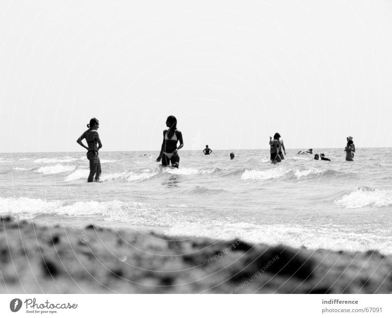 Human being Summer Beach Sand Bikini