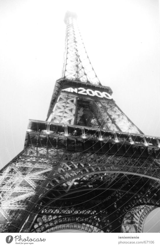 Tower Paris France Eiffel Tower 2,000
