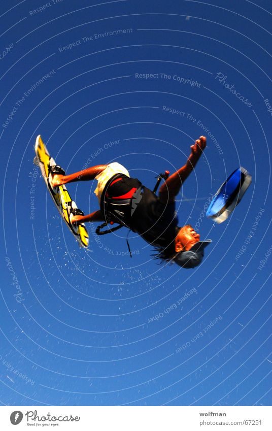 Sky Ocean Beach Sports Jump Surfing Wind Tall Dragon Extreme Kiting Hawaii Funsport Surfboard Extreme sports