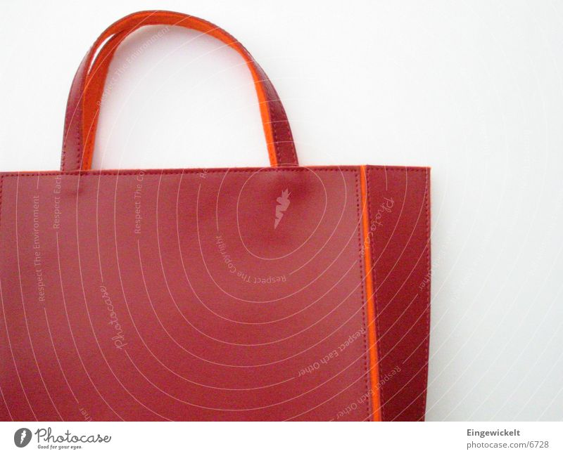 Red Orange Small Leisure and hobbies Bag