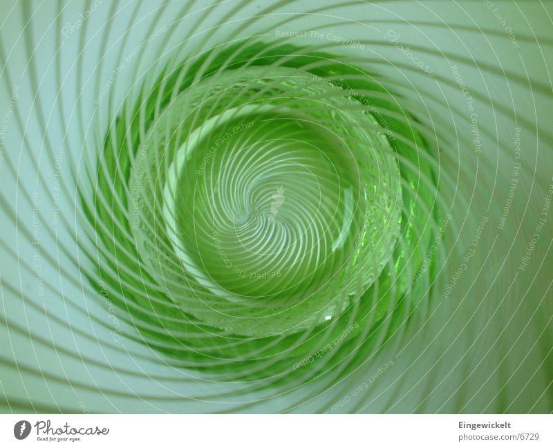 Green Glass Kitchen Stripe