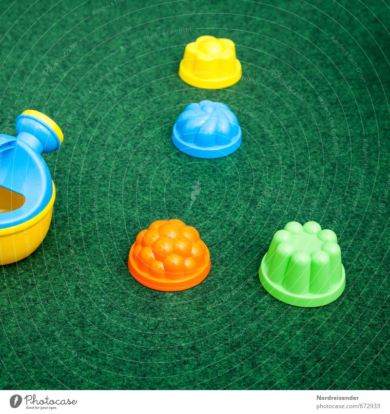 junk Playing Parenting Kindergarten Toys Watering can Plastic Friendliness Multicoloured Colour Joy Sand toys Carpet Structures and shapes Background picture
