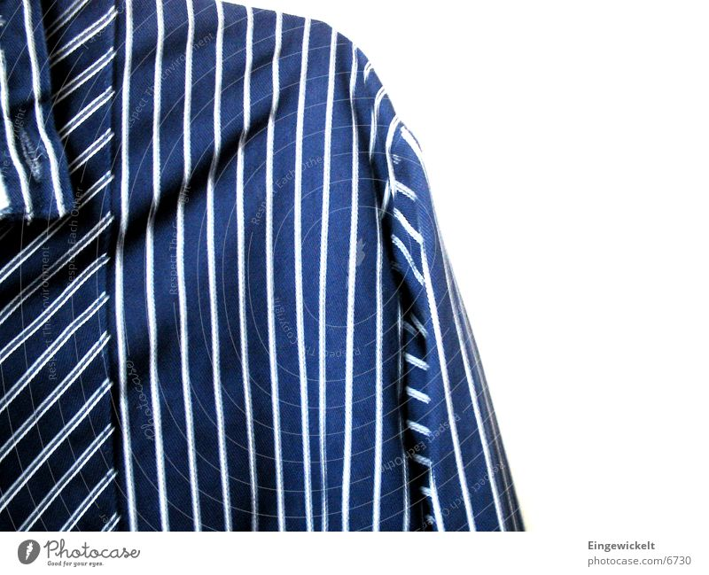 Blue Leisure and hobbies Stripe North Grandad collar shirt