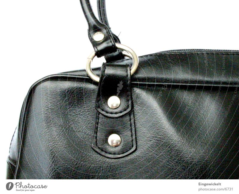 Black Leisure and hobbies Bag Handbag