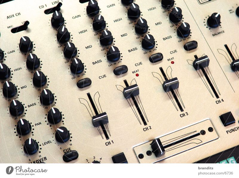 Technology Sound Mixing desk Electronics Controller Electrical equipment